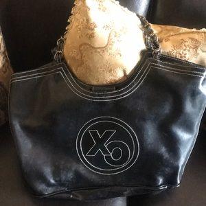 Black XOXO bag